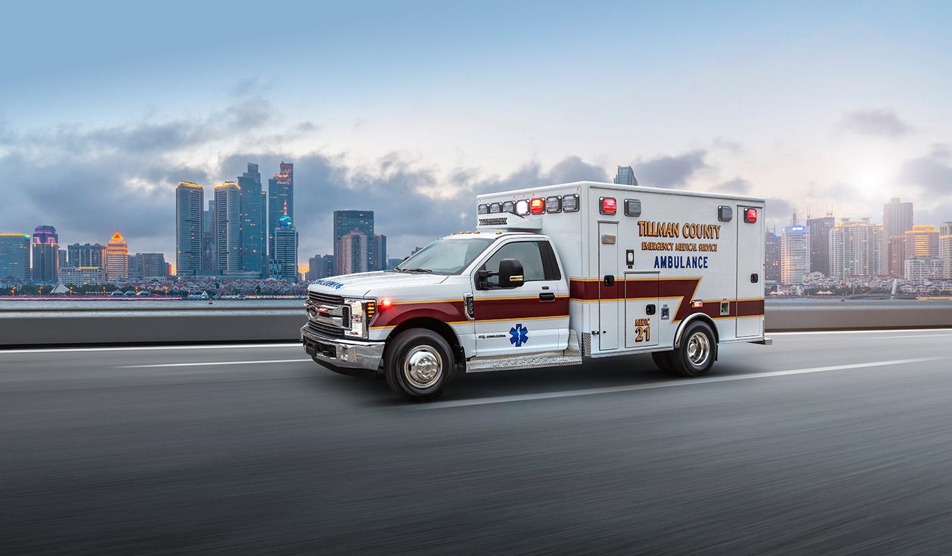 Metro Express RP90ES type-1 ambulance