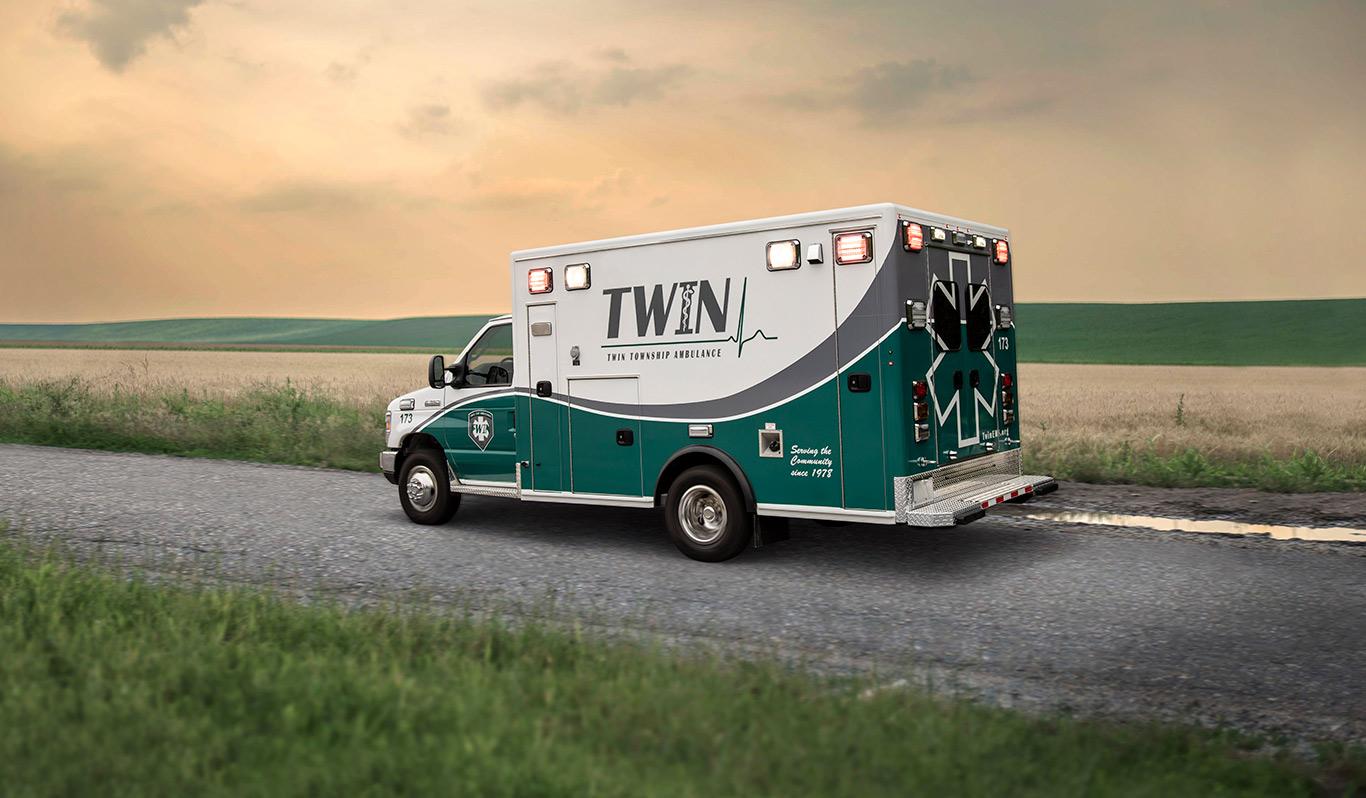 Medix Type III RP-90ES Ambulance